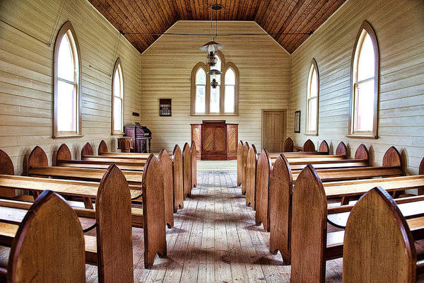 Methodist Photograph - Wesleyan Church by Yew Kwang