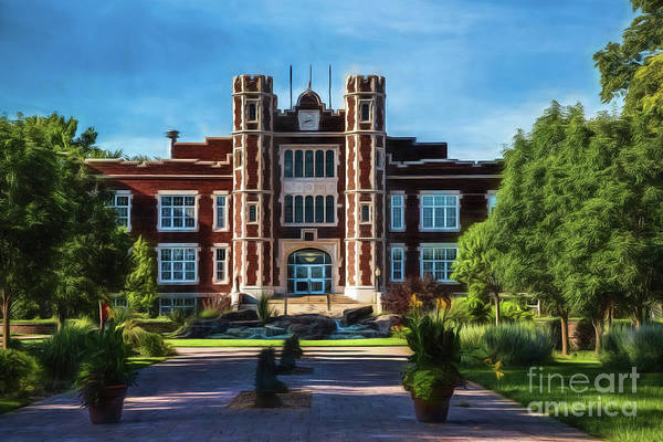 Photograph - Wesleyan Memories by Jon Burch Photography
