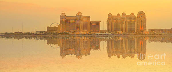 Photograph - West Bay Hotel Reflections by Benny Marty