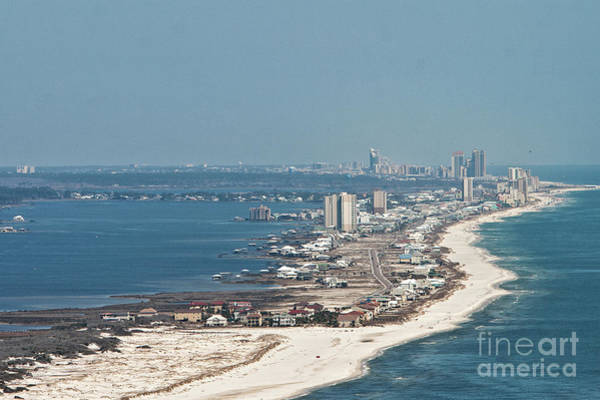 Photograph - West Beach-1 by Gulf Coast Aerials -