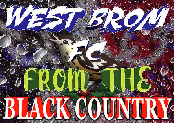 Blitz Digital Art - West Brom Fc by Blitz Photos
