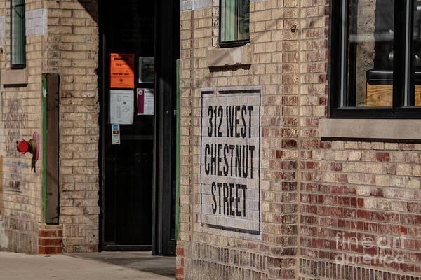 Wall Art - Photograph - West Chestnut Street by David Bearden