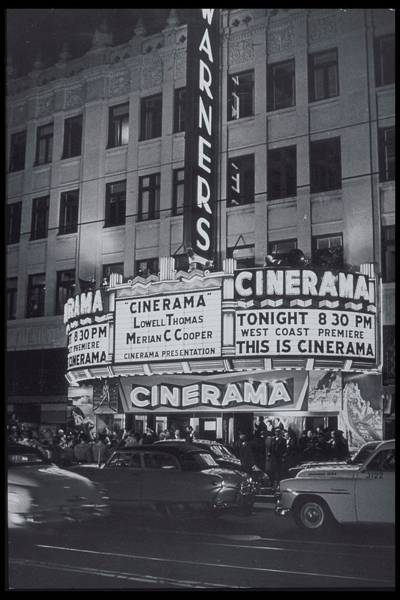 Old People Photograph - West Coast Premiere Of This Is Cinerama by Archive Holdings Inc.
