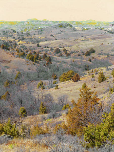 Photograph - West Dakota Hills Reverie by Cris Fulton