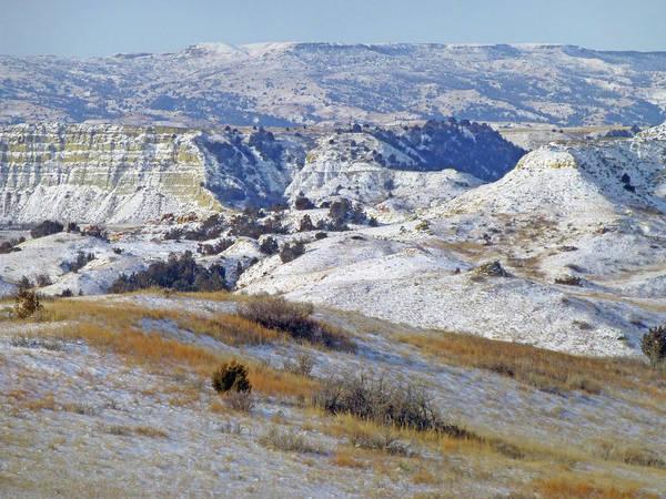Photograph - West Dakota Snow by Cris Fulton