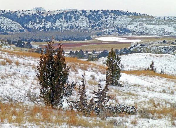 Photograph - West Dakota Winter River by Cris Fulton