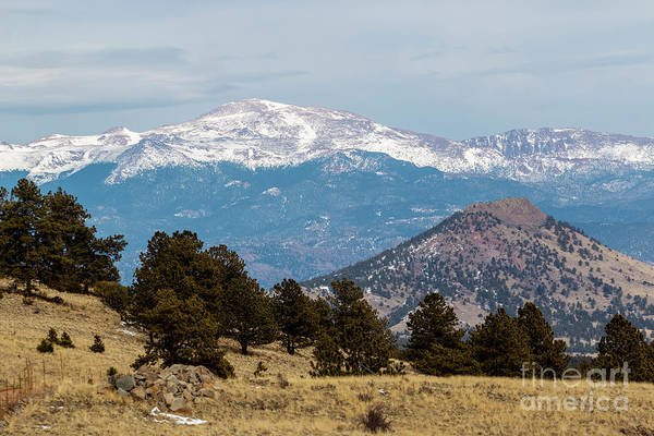 Photograph - West Face Of Pikes Peak by Steve Krull