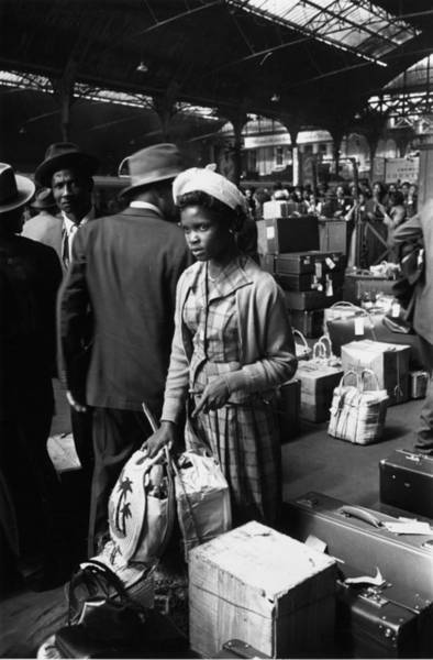 Reportage Photograph - West Indian Arrival by Haywood Magee