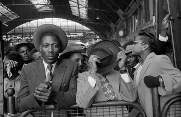 Photograph - West Indian Arrivals by Haywood Magee