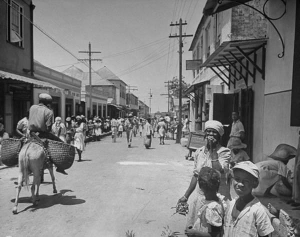 Photograph - West Indies by Eliot Elisofon