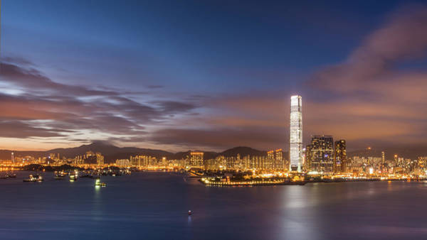 Kowloon Photograph - West Kowloon District by Coolbiere Photograph