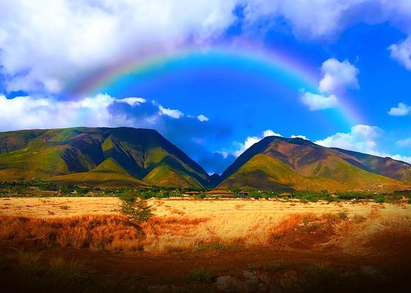 Wall Art - Photograph - West Maui Mountains by Christina Ford