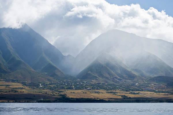Maui Photograph - West Maui Mountains With Puu Kukui Peak by Greg Elms