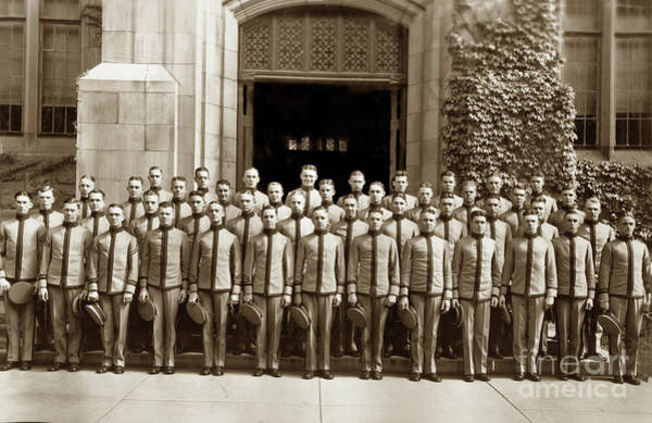 Photograph - West Point Class Of 1928 U. S. Military Academy, New York by California Views Archives Mr Pat Hathaway Archives