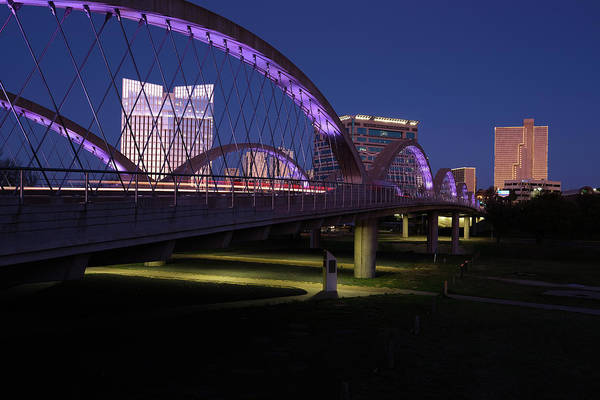 Photograph - West Seventh Street Bridge Fort Worth 032619 by Rospotte Photography