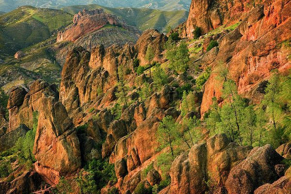 Pinnacles Photograph - West Slope High Peaks by Don Smith