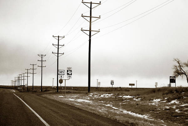 Photograph - West Texas Highway by Marilyn Hunt