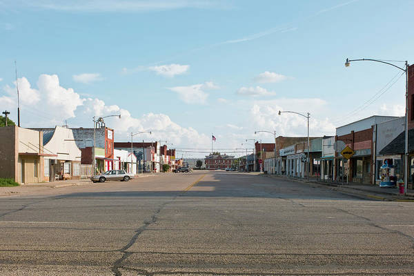 Small Town Usa Photograph - West Texas Town by Dhughes9