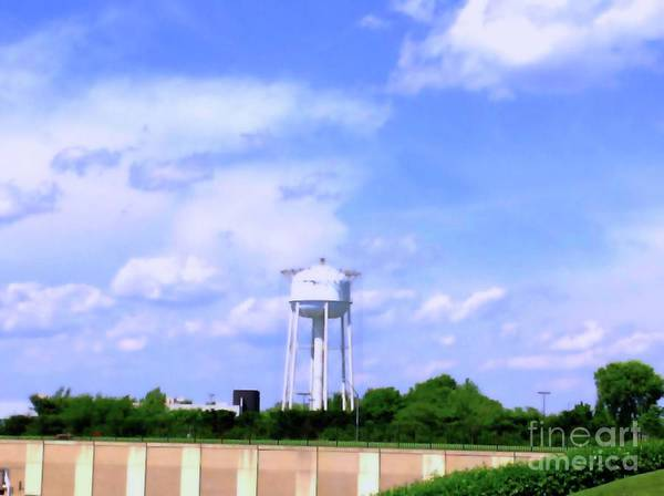 Photograph - West View Water Tower Frederick Maryland by Debra Lynch