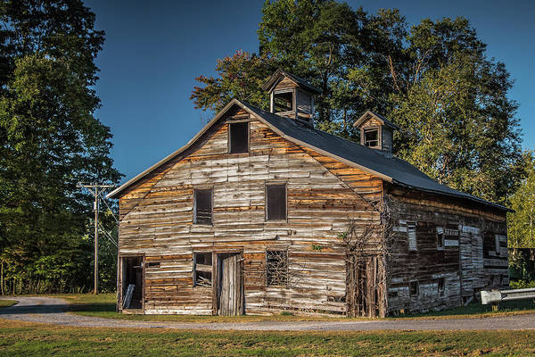 Photograph - West Virginia Barn by Guy Whiteley