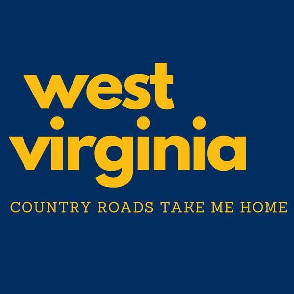 Mountaineer Digital Art - West Virginia Country Roads by Aaron Geraud