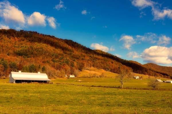 Cass Wall Art - Photograph - West Virginia Farm In Autumn by Mountain Dreams