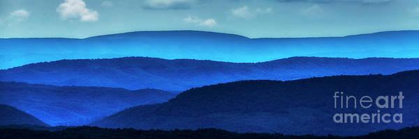 Photograph - West Virginia Ridges Of Blue by Thomas R Fletcher