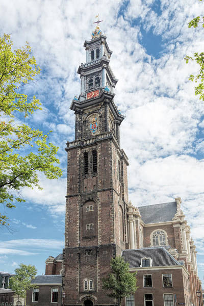 Photograph - Westerkerk Amsterdam by Jemmy Archer