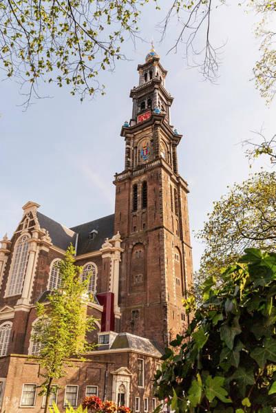 Westerkerk In Amsterdam Art Print