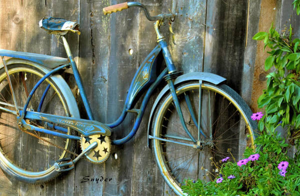 Photograph - Western Flyer Vintage Bicycle by Floyd Snyder
