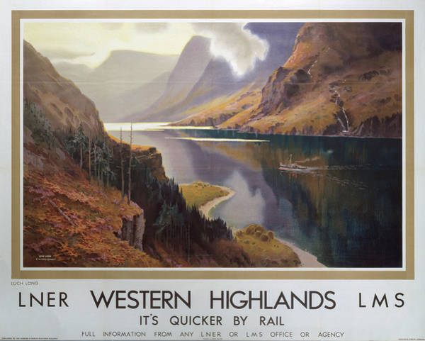 Wall Art - Photograph - �western Highlands�, Lnerlms by Science & Society Picture Library