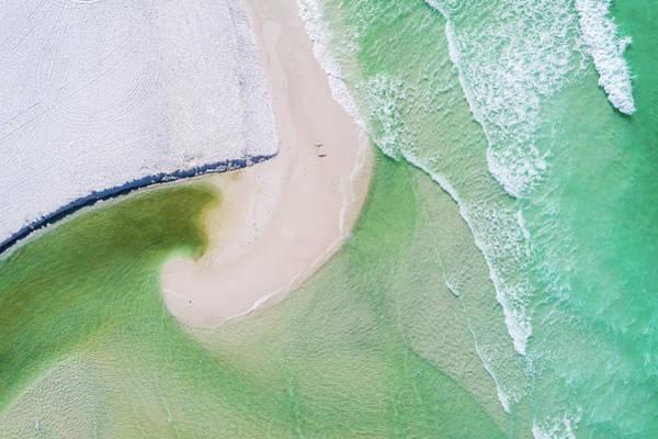 Western Lake Meets The Gulf Art Print