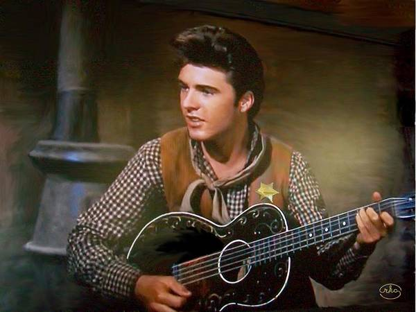 But Photograph - Western Ricky Nelson by Ron Chambers