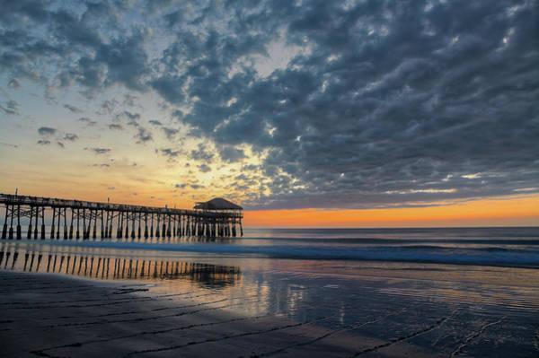 Photograph - Westgate Cocoa Beach Pier At Sunrise by Jeffrey Klug