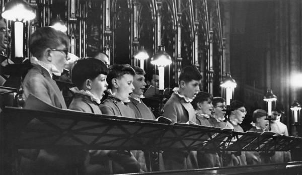 Photograph - Westminster Abbey Choir by Erich Auerbach