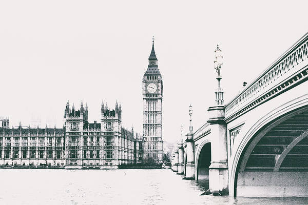 Wall Art - Photograph - Westminster Ink by Martin Newman