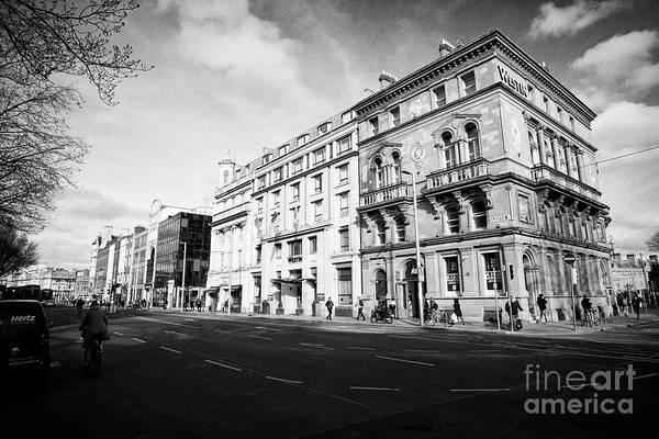 Wall Art - Photograph - Westmoreland Street With The Westin Hotel Dublin Republic Of Ireland Europe by Joe Fox