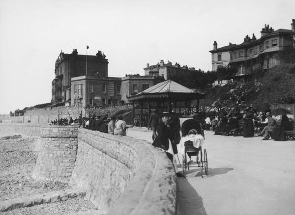 Mare Photograph - Weston-super-mare by London Stereoscopic Company