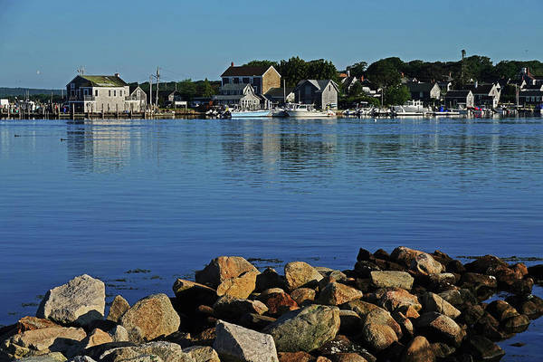 Photograph - Westport Harbor Boats Houses Westport Ma by Toby McGuire