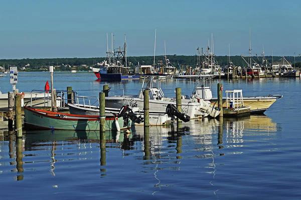 Photograph - Westport Harbor Boats Westport Ma by Toby McGuire