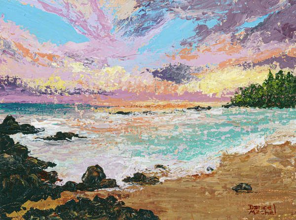 Painting - Westside Sunset by Darice Machel McGuire