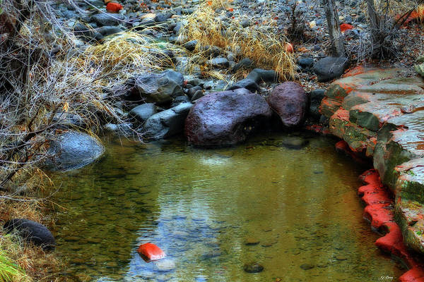 Canyon Mixed Media - Wet Beaver Wilderness by G Berry