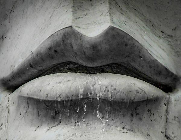 Photograph - Wet Lips by Lora J Wilson