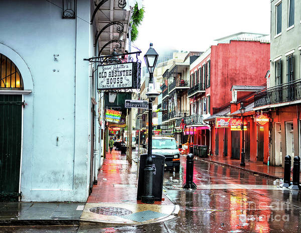 Photograph - Wet Morning In New Orleans by John Rizzuto
