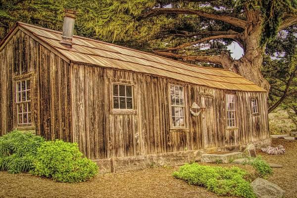 Digital Art - Whalers Cabin Point Lobos  by Barbara Snyder
