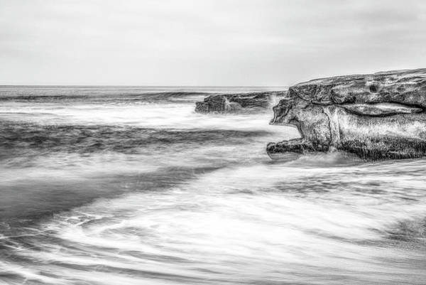 Photograph - Whale's Mouth In Monochrome by Joseph S Giacalone