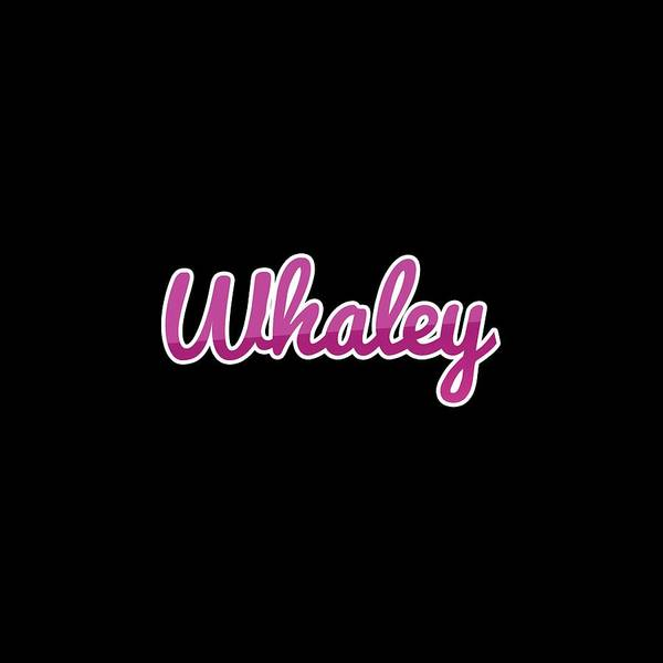 Wall Art - Digital Art - Whaley #whaley by TintoDesigns