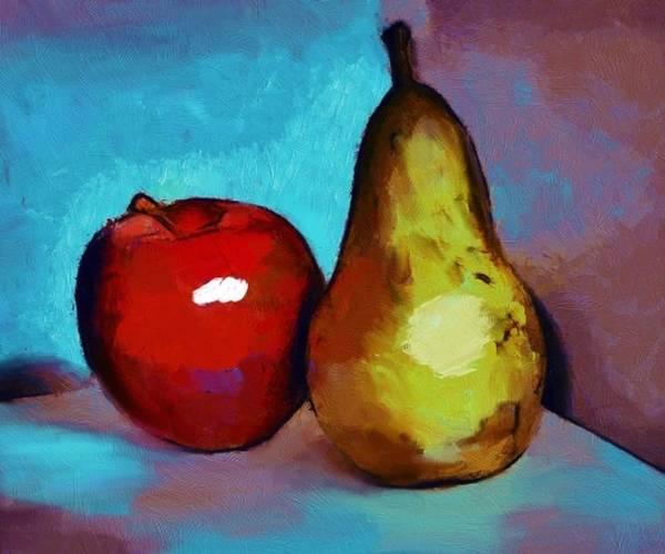 Wall Art - Digital Art - Nice Pear by Kelly McManus