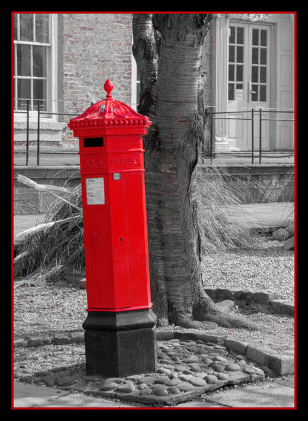 Photograph - What Is In The Mailbox? Part Deux by Chris Coffee