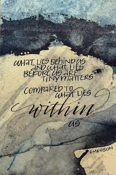 Painting - What Lies Within by Sally Wightkin